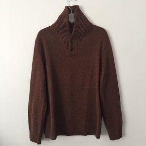 J. Crew men's lambs wool sweater size M